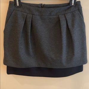 Aqua Grey and Black Skirt Size 2